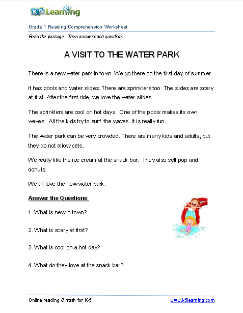 A Visit To The Water Park Fiction 117 Words